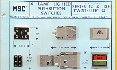 12 Series Switches
