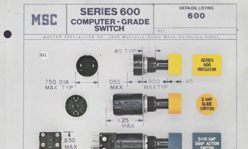 600 Series Switches